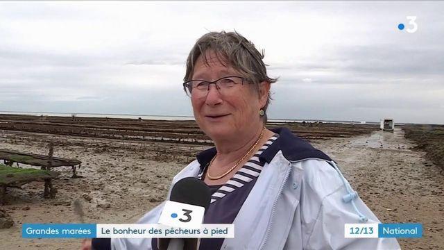Charente : les pêcheurs à pied profitent des grandes marées