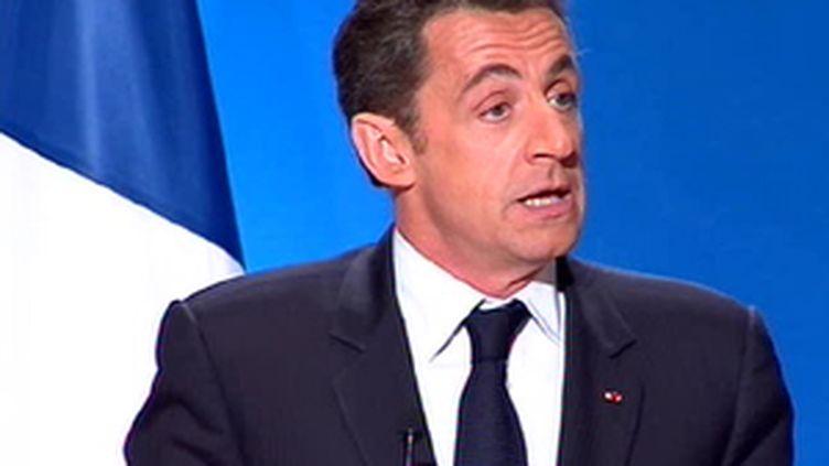 Nicolas Sarkozy (© France 3)