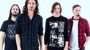 """Les quatre membres de Gojira à nouveau réunis pour un septième album, """"Fortitude"""". (Gabrielle Duplantier)"""