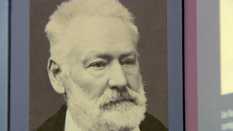 Portrait de Victor Hugo exposé dans sa maison natale  (France 3 / Culturebox)