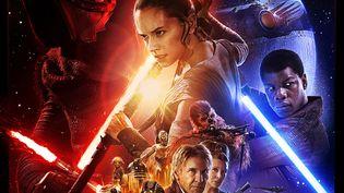 """L'affiche du prochain Star Wars """"Le réveil de la force""""  (Allociné)"""