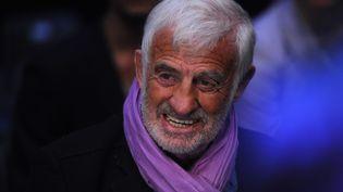 Jean-Paul Belmondo photographié le 3 mars 2012. (PATRIK STOLLARZ / AFP)