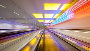 Que sera l'aéroport du futur en 2040 ? (Illustration) (JAN-STEFAN KNICK / EYEEM / GETTY IMAGES)