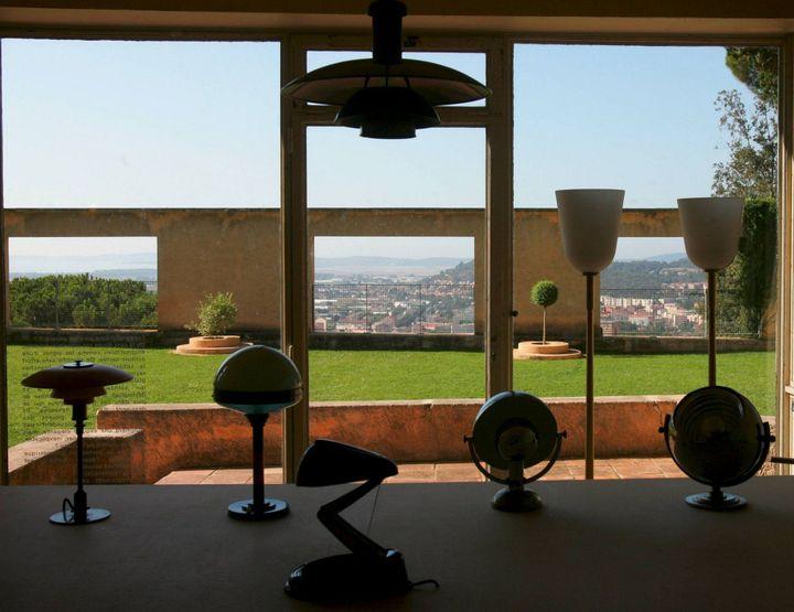 La Villa Noailles, vue sur le jardin  (PHOTOPQR/NICE MATIN/FELIX GOLESI HYERES)