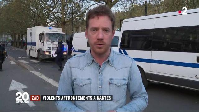 ZAD : violents affrontements à Nantes