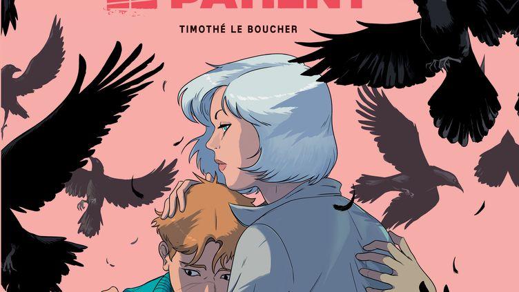 """Couverture """"Le Patient"""", Timothé Le Boucher (Timothé Le Boucher)"""