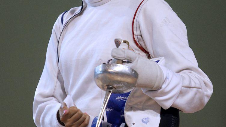 La pentathlète tricolore Elodie Clouvel (RAYMOND ROIG / AFP)