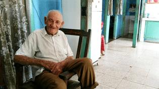 Martin Castro, le demi-frère de Fidel Castro, àBirán (Cuba), en décembre 2016. (RADIO FRANCE / LAURENT MACCHIETTI)