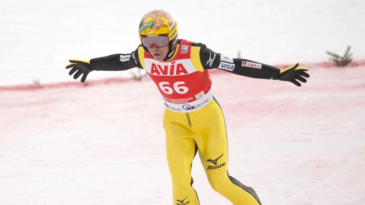 Daniel-André Tande a entamé sa saison par une victoire (ROBERT MICHAEL / AFP)