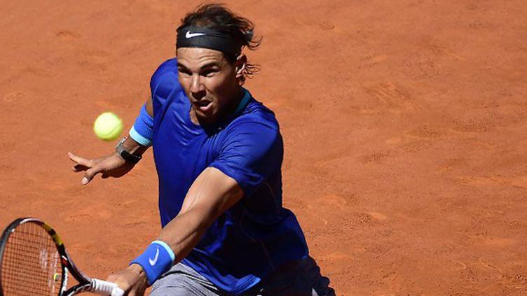 Rafael Nadal en quête pour un nouveau titre (JAVIER SORIANO / AFP)