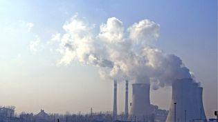 La centrale à charbon de Huai'an, dans la province de Jiangsu (Chine), le 19 décembre 2009. (ZHENG JIAN / IMAGINECHINA / AFP)