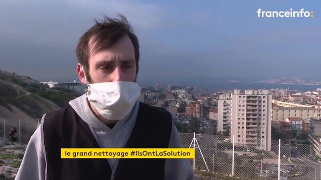 Marseille : opération nettoyage à Notre-Dame de la Garde
