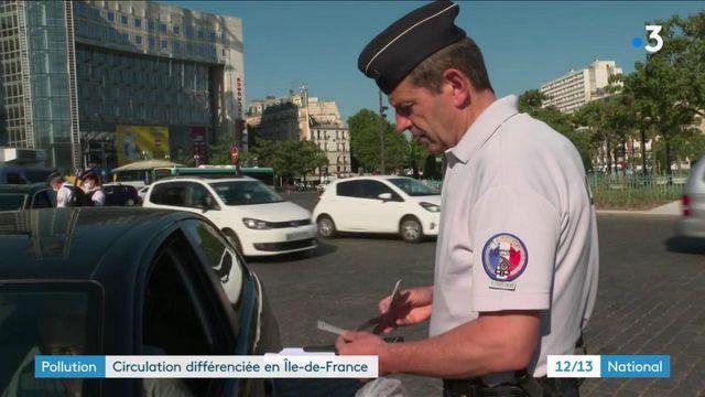 Pollution : circulation différenciée en Île-de-France