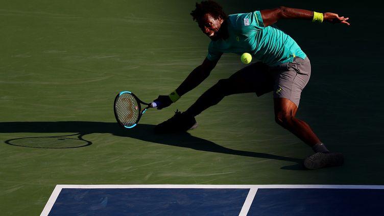 Gaël Monfils entre ombre et lumière à l'US Open (AL BELLO / GETTY IMAGES NORTH AMERICA)