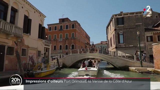 Patrimoine : Port Grimaud, la petite Venise du Var