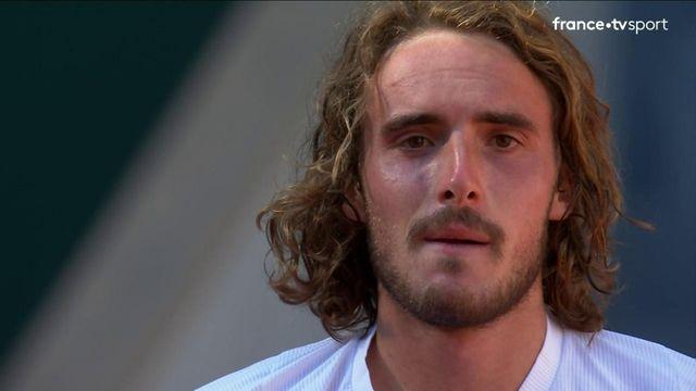 1/2 finale : l'émotion de Stefanos Tsitsipas après sa qualification en finale