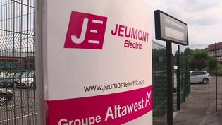 Une partie des propulseurs des sous-marins aurait dû être fabriquée dans l'usine Jeumont Electric, dans le Nord (Capture d'écran / France 3)
