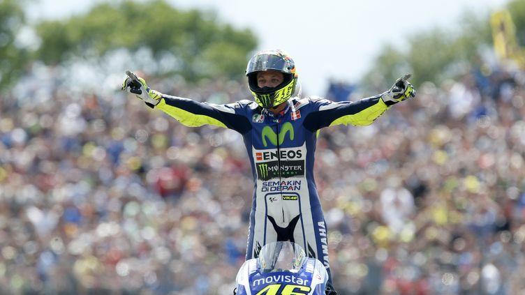 Valentino Rossi plus que jamais leader du classement après sa victoire à Assen (BAS CZERWINSKI / ANP MAG)