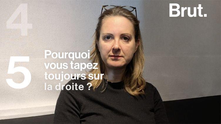L'humoriste Charline Vanhoenocker est chroniqueuse et animatrice sur France Inter. Certaines questions l'agacent, elle a décidé d'y répondre. (BRUT)