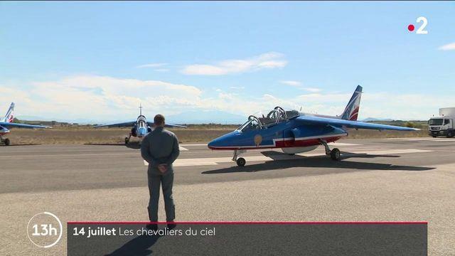 14-Juillet : les pilotes de la Patrouille de France se préparent