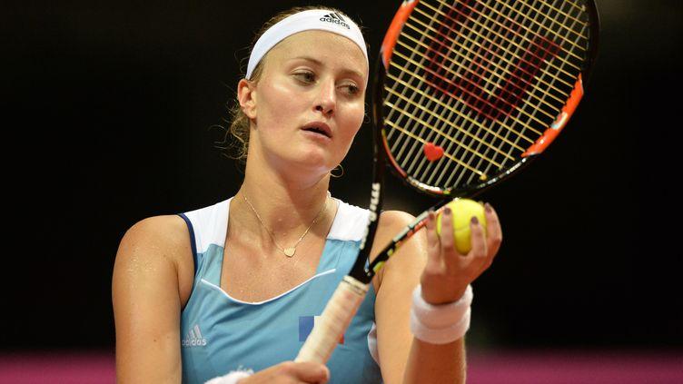 Kristina Mladenovic (JEAN-FRANCOIS MONIER / AFP)