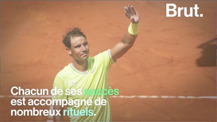 Cette année, Rafael Nadal est de retour à Roland-Garros. Retour sur la carrière hors norme du champion espagnol. (BRUT)