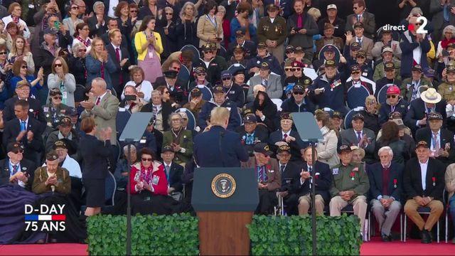 """Trump aux vétérans : """"vous êtes la gloire de notre pays"""""""