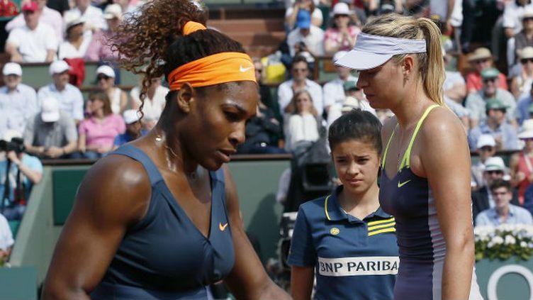 Serena Williams et Maria Sharapova.