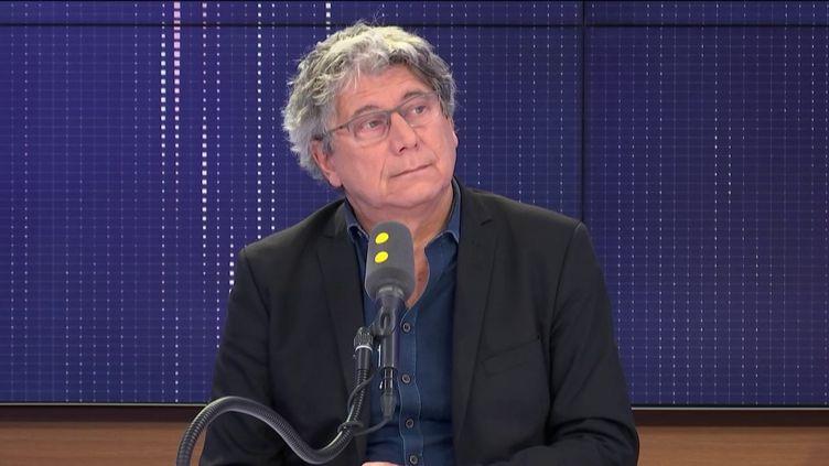 Eric Coquerel, député de la France Insoumise de Seine-Saint-Denis invité de franceinfo (FRANCEINFO / RADIOFRANCE)