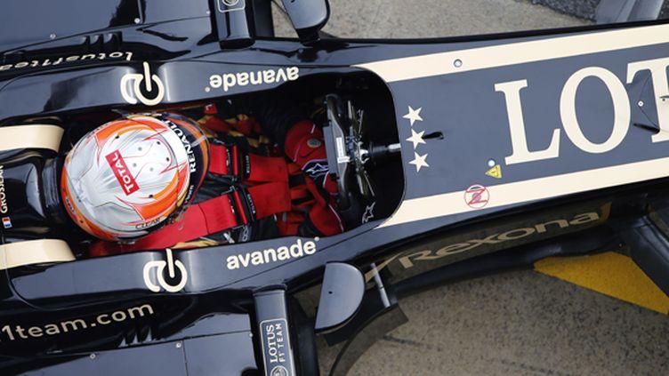 Romain Grosjean (Lotus F1 Team) prêt pour une une nouvelle saison