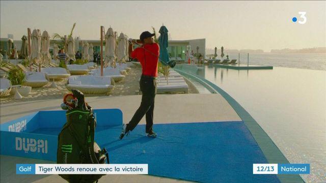 Golf : Tiger Woods de retour au sommet après des années de déboires