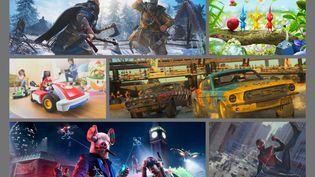 Assassin's Creed, Pikmin, Mario Kart, Dirt, Watch Dogs et Spider-Man...de nombreusseslicences phares du jeu vidéo font leur grand retour avant Noël. (DR)