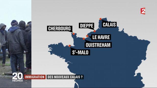 Immigration : de nouveaux Calais le long de la côte ?