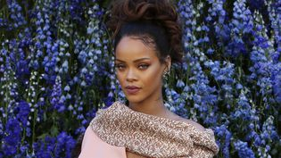 Rihanna lors de la présentation de la collection Dior en octobre 2015  (Patrick Kovarik/AFP)