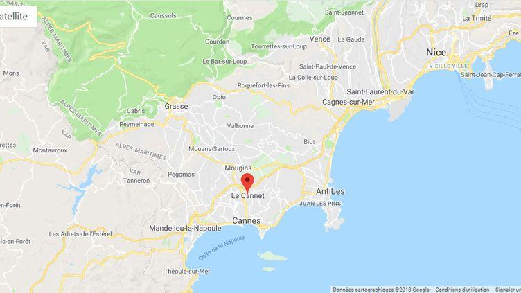 Un homme soupçonné d'avoir tué trois membres de sa famille dit assumer son geste et ne rien regretter. (CAPTURE D'ÉCRAN GOOGLE MAPS / FRANCEINFO / RADIO FRANCE)