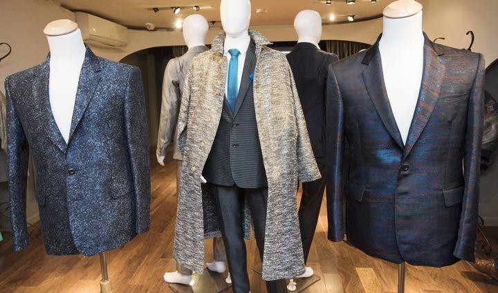 Hiromi Asai collection masculine Blue automne-hiver 2017, présentée à la Fashion week de New York, en février 2017  (Hiromi Asai. )