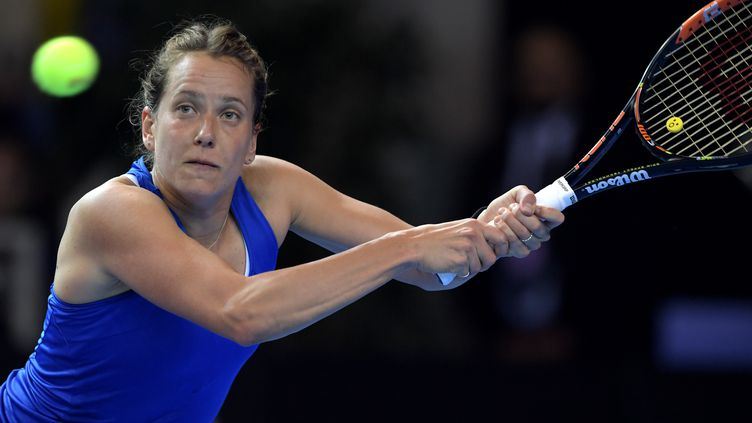 Barbora Strycova (PATRICK HERTZOG / AFP)