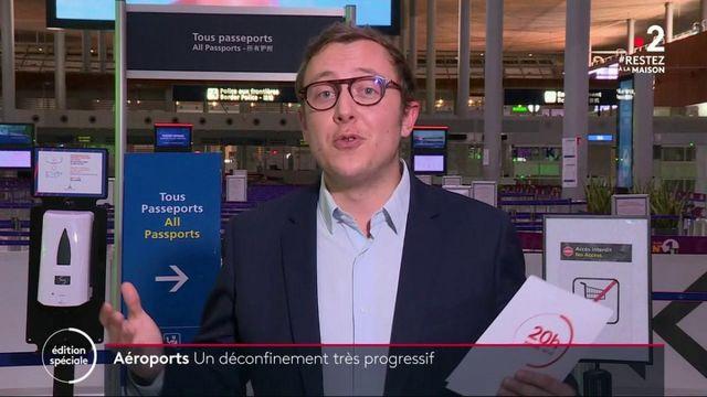 Coronavirus : le trafic aérien toujours au ralenti à Paris