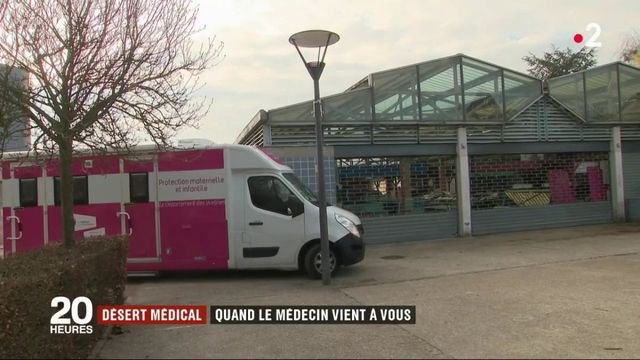 Désert médical : un camping-car pour venir aux patients