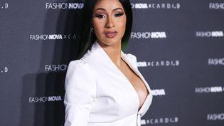 La rappeuse américaine Cardi B à Los Angeles le 8 mai 2019, lors de la soirée de lancement de la collection Fashion Nova en collaboration avec Cardi B. (IMAGE PRESS AGENCY / NURPHOTO)