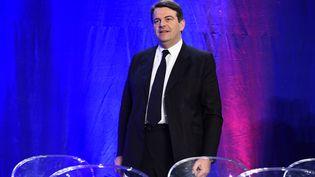 Le député Les Républicains Thierry Solère lors d'un meeting le 3 décembre 2015 à Rueil-Malmaison. (LIONEL BONAVENTURE / AFP)