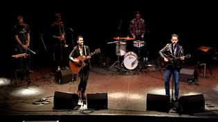 Aberdeeners, un groupe auvergnat pop folk  (Capture d'image France3/Culturebox)
