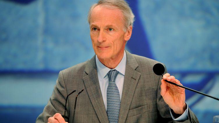 Jean-Dominique Senard, en janvier 2019. (RÉMI DUGNE / MAXPPP)