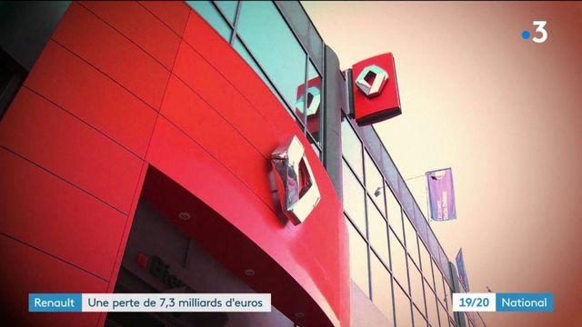 Renault : Une perte de 7.3 milliards d'euros au premier trimestre