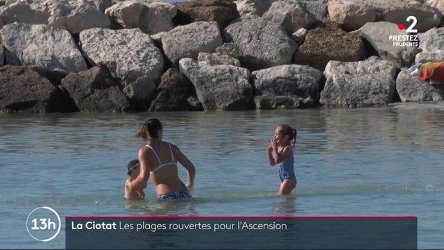 Bouches-du-Rhône : réouverture pour la plage de La Ciotat