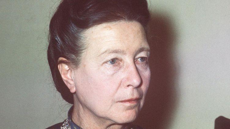 Simone de Beauvoir en 1970. (STF / AFP)