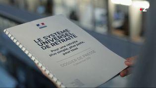 Réforme des retraites: dans les projections du Gouvernement, tout le monde gagne! (FRANCE 2 / FRANCETV INFO)