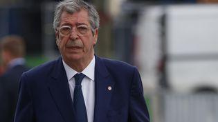 Patrick Balkany, maire de Levallois-Perret (Hauts-de-Seine), arrive au tribunal de Paris, le 20 mai 2019. (MEHDI TAAMALLAH / NURPHOTO / AFP)
