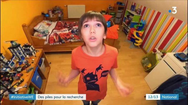 Pas-de-Calais : un garçon de 10 ans lance une collecte de piles pour aider la recherche