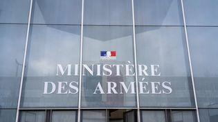 Le ministère des Armées à Paris, le 25 février 2020. (LAURE BOYER / HANS LUCAS / AFP)